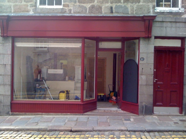 Painted Shop Front!